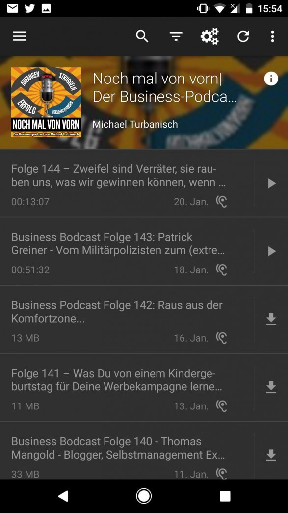 Podcast-app-Michael-Turbanisch