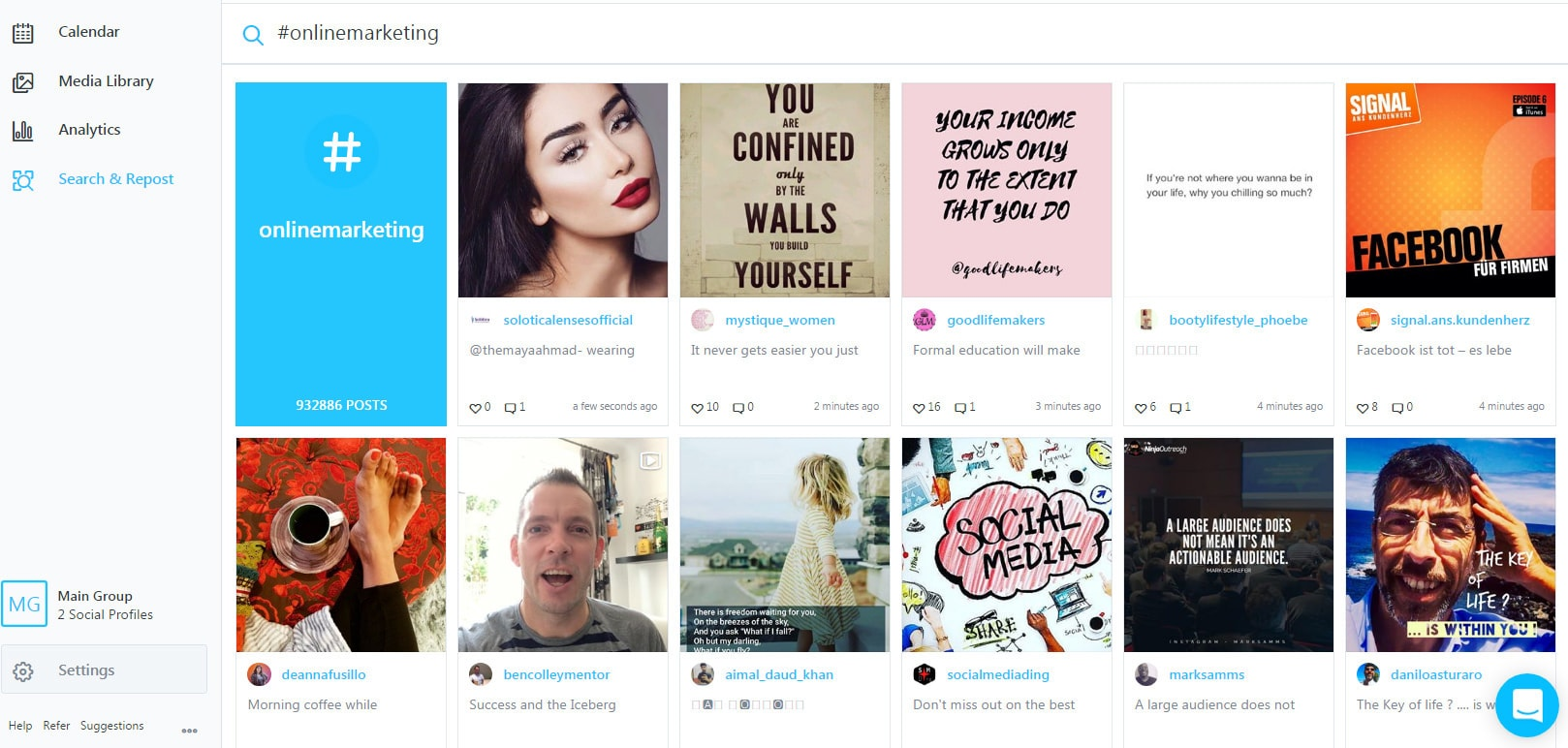 Wie Du Instagram Bilder mit Later planen kannst