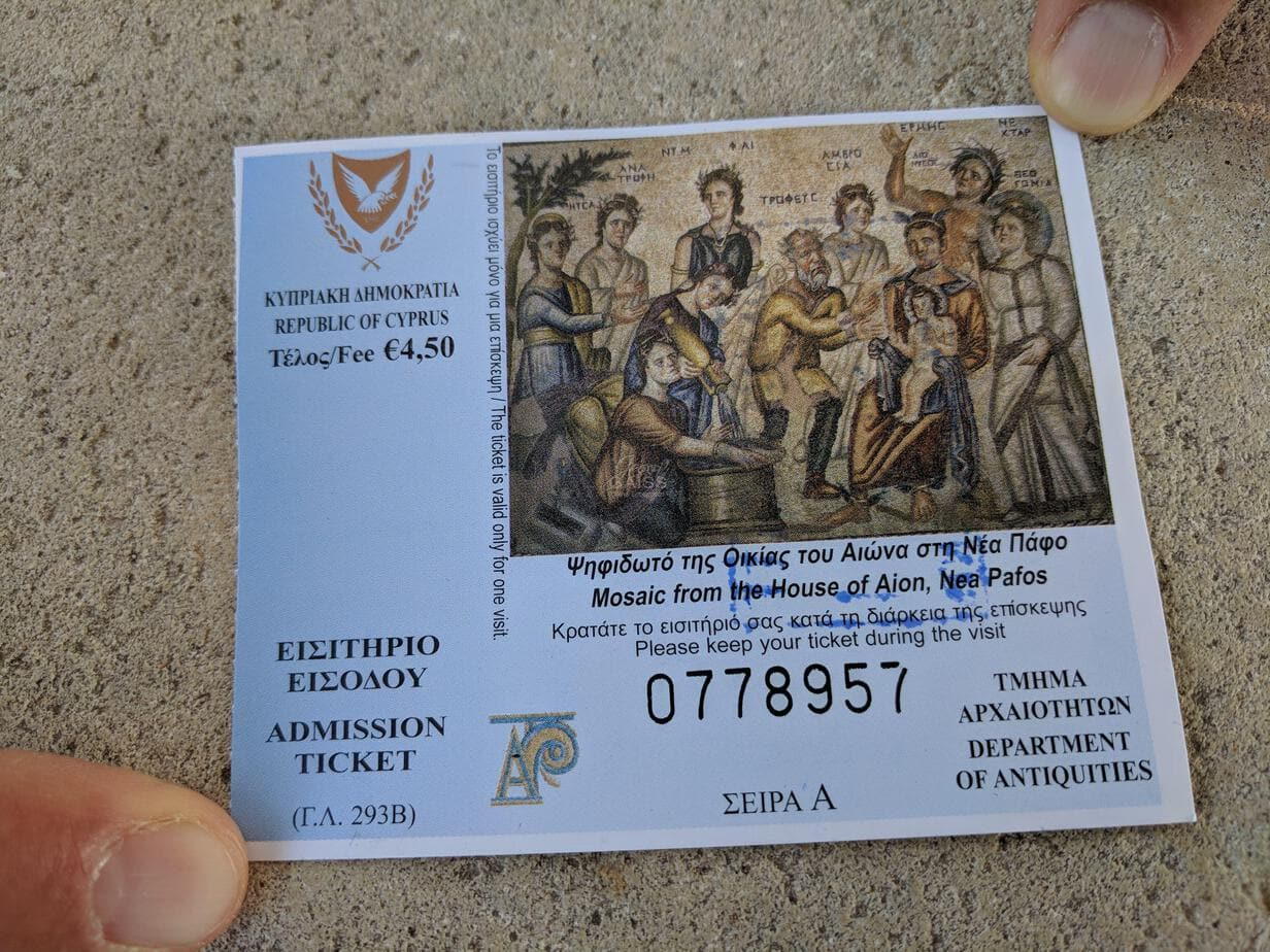 Kourion Ticket Zypern