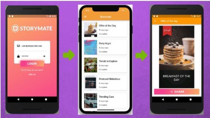 Storymate App